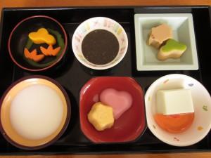 お正月のお食事(流動食)
